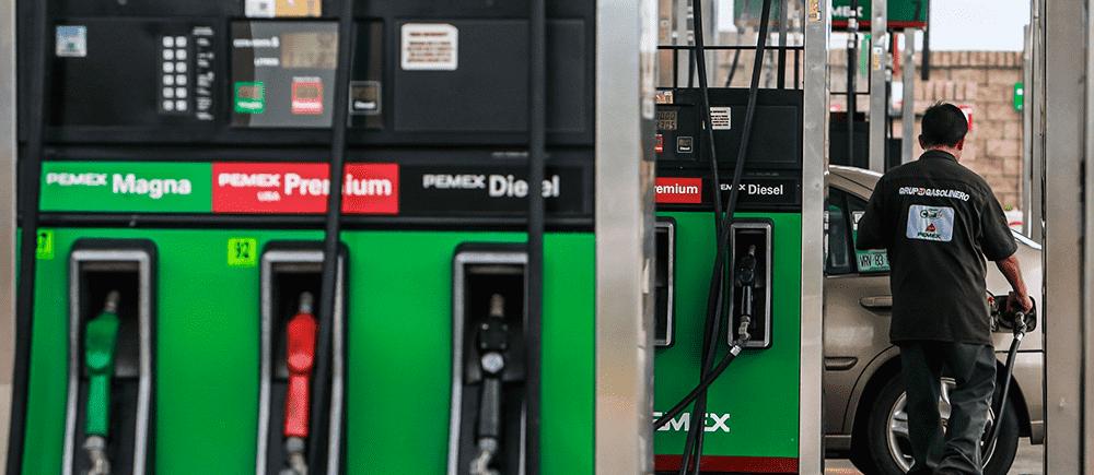 precios de la gasolina y diésel para este 23 de Febrero