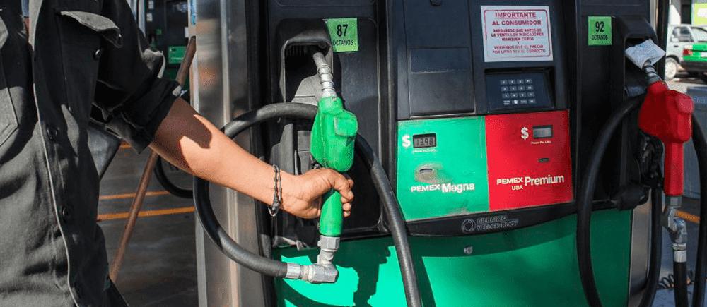 aumento en los precios de gasolina
