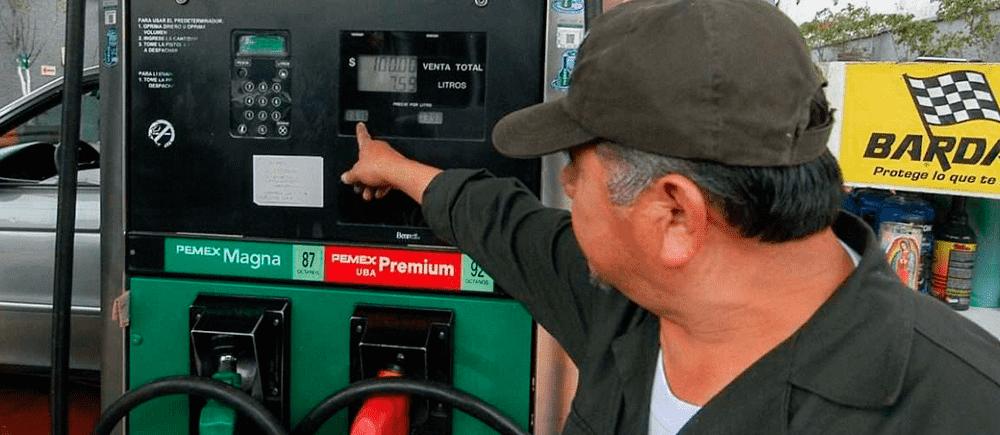precio de la gasolina 28 marzo 17