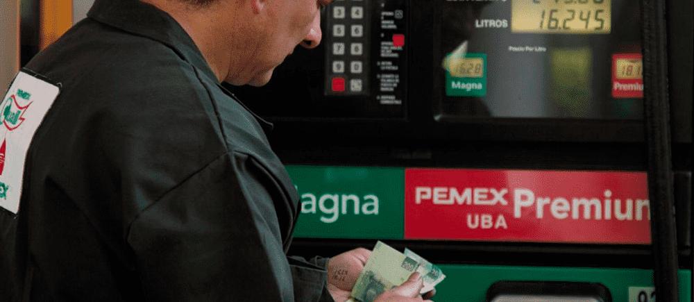 precios de las gasolinas 23 marzo