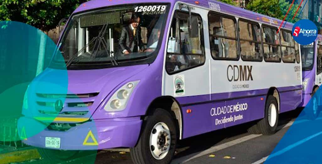 tarifa del transporte público CDMX