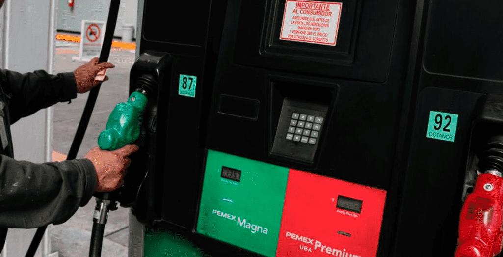 Precios de la gasolina 07 Abril 2017