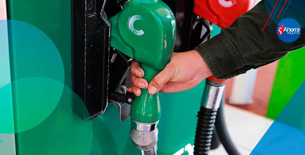 precios de las gasolinas Magna, Premium y Diésel