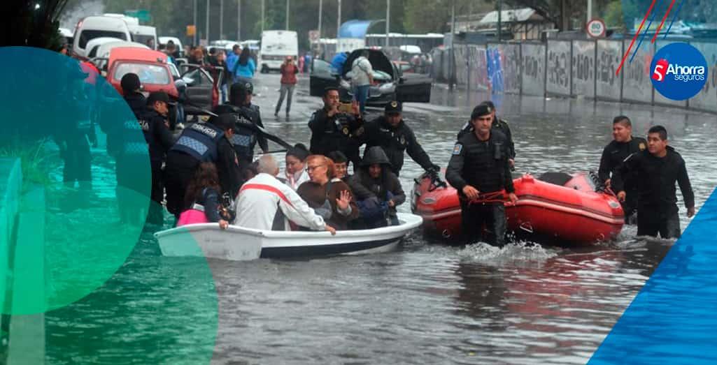 Inundaciones en la CDMX