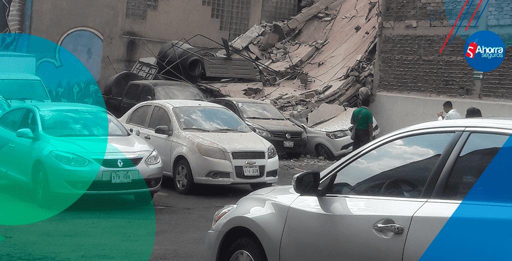seguro de autos ante daños por sismo