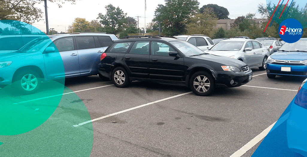 errores al estacionar tu auto